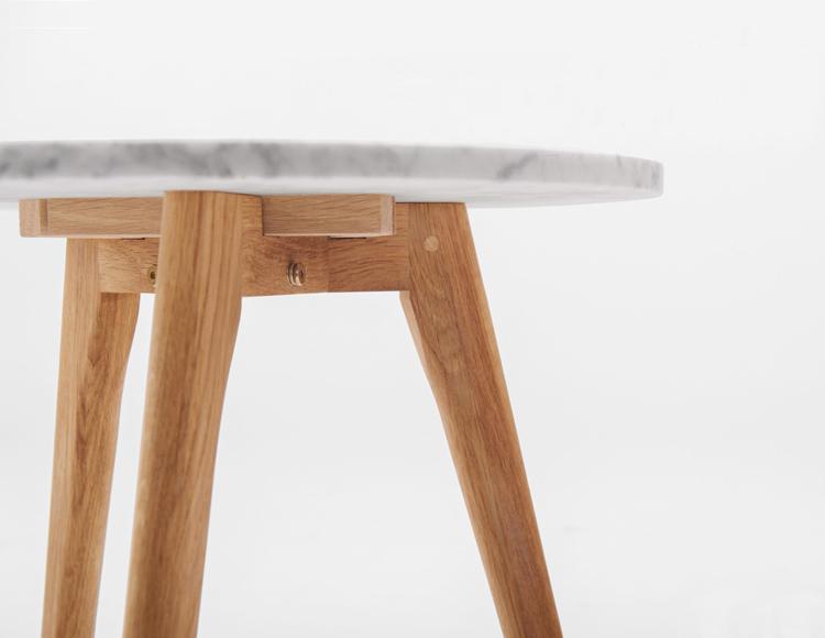 白橡木椅腳