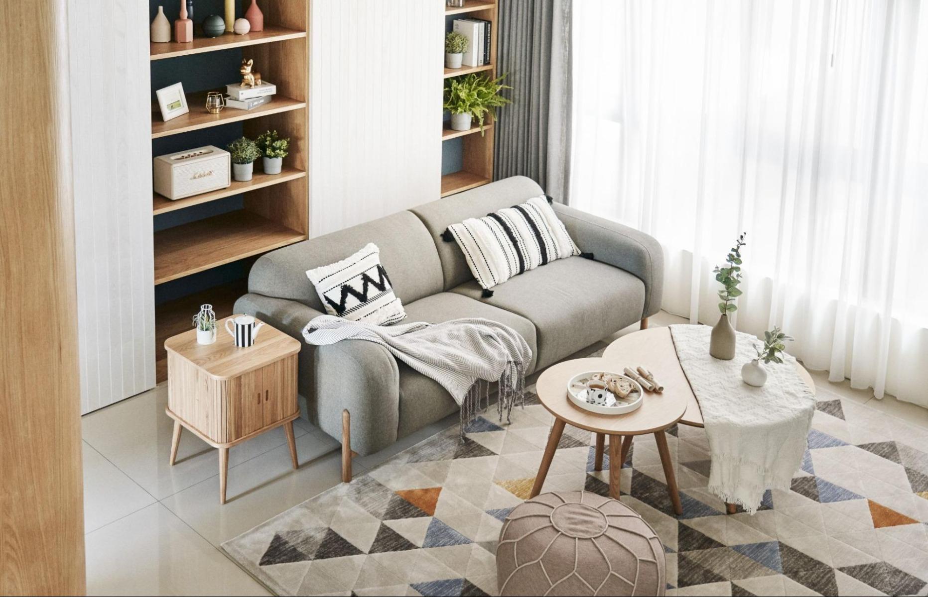 北歐風沙發情境-禾宇室內設計