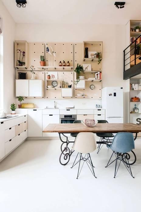開放式空間-餐廳連結廚房