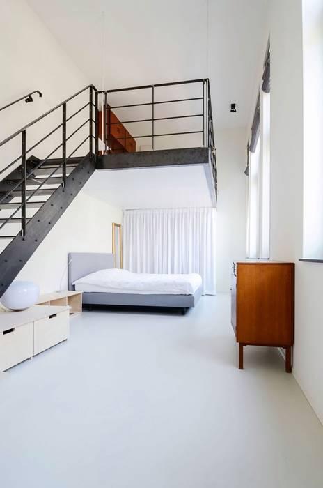 開放式臥室因此與客廳自然的隔開